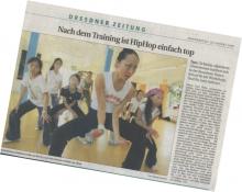 Sächsische Zeitung Hip Hop 18.08.05